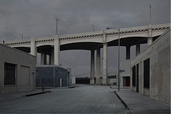 Peter Margonelli, Invisible Geographies: The Bridge, 2007Digital inkjet print, 60 x 90 cm, Edition of 10.(Image courtesy of the artist and Blindspot Gallery)