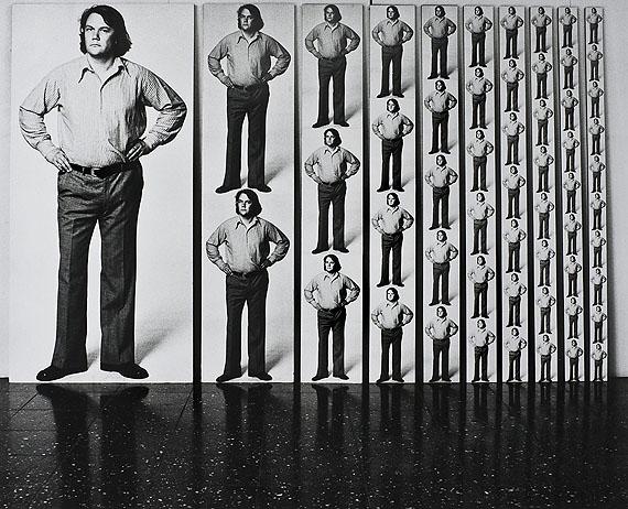 Floris Neusüss, Maßstabsobjekt Anzahl - Reihe 1:1 bis 1:10, 1974/76
