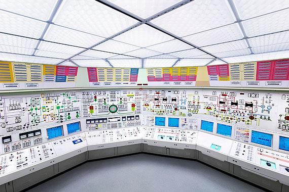 © Luca Zanier, Zürich: Kernkraftwerk Beznau I - Kommandoraum