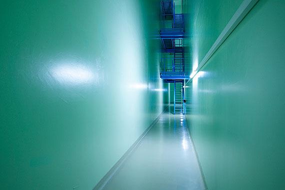 © Luca Zanier, Zürich: Zwilag IV - Zwischenlager für radioaktive Abfälle, Notausgang