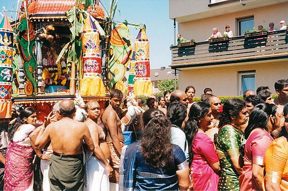 Hamm 2006, Hinduismus, Sri Kamadchi Ampal Tempel, Tempelfest