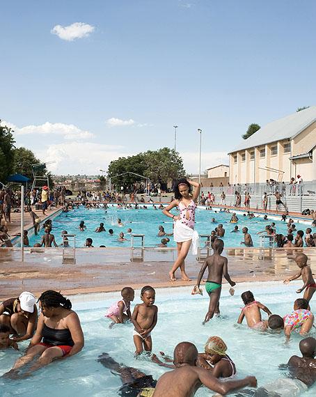 Swimming Pool, Orlando West, Soweto, 2009 © Jodi Bieber