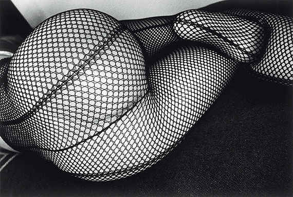 © Daido Moriyama – Tights, 1987 – 2011.  Silver gelatin print.