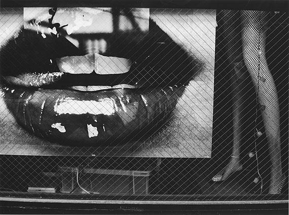 © Daido Moriyama – Lips.  Silver gelatin print.