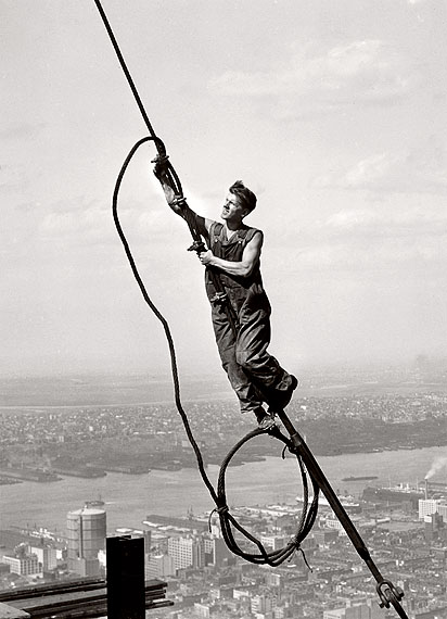 Lewis Hine, The Sky Boy, 1931, © George Eastman House