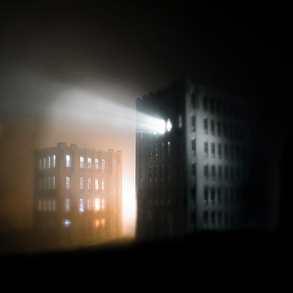 Through the windows of the night, 2012from The Pale MirrorPigment Print40 x 40cm, Edition of 6 + 2AP© MARK KIMBER