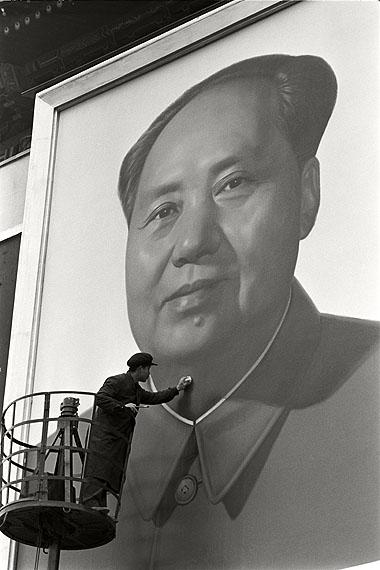 Retusche, Peking 1967 © Max Scheler Estate Hamburg