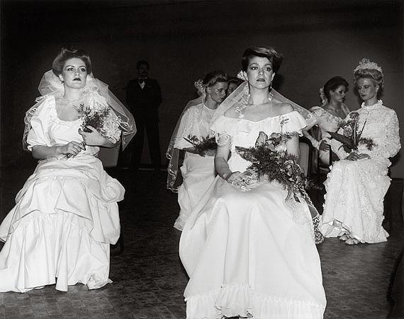 Erasmus Schröter: Brides, Leipzig 1983, silvergelatine