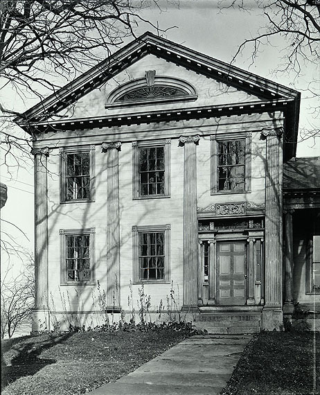 Walker Evans: Greek Revival House with Half-Lunette Window in Full-Façade Gable, Cherry Valley, New York, November, 1931 © Walker Evans Archive, The Metropolitan Museum of Art