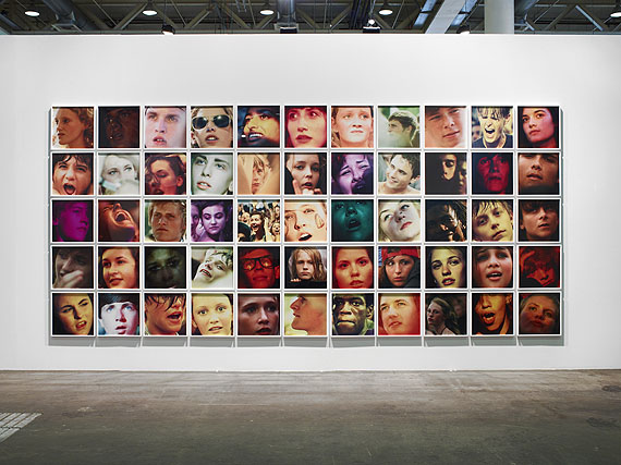 Ryan McGinley, You and My Friends 1, 2012, 55 c-prints20 x 20 inches each (51 x 51 cm each), uniqueCourtesy of the artist and Team Gallery, New York