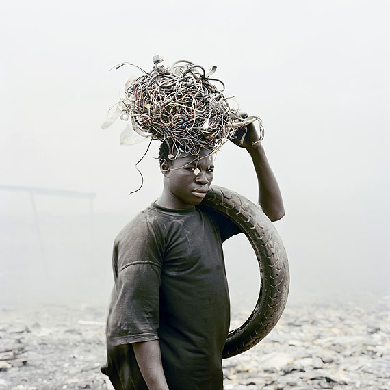 Pieter Hugo David Akore, Agbogbloshie Market, Accra, Ghana 2010 © Pieter Hugo Courtesy of Stevenson Gallery, Cape Town and Yossi Milo Gallery, New York