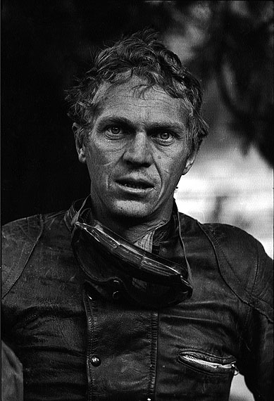 Steve McQueen after motorcycle race, Mojave Desert, California 1963.© John Dominis / Time Inc. All Rights Reserved.
