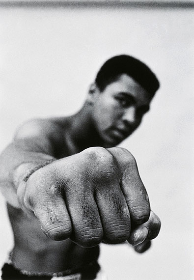 Thomas Hoepker: Muhammed Ali`s Fist, 1966