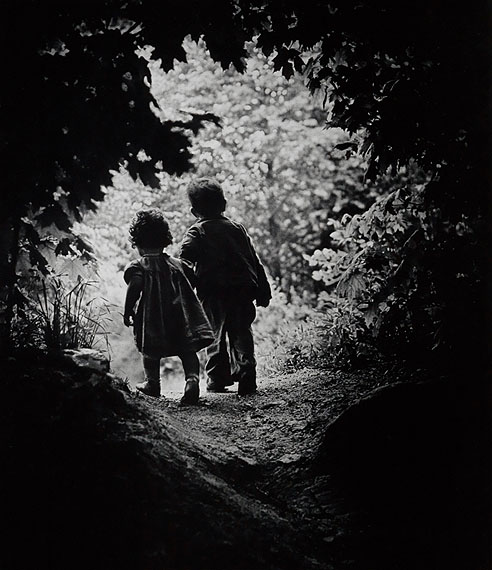 Lot 83: W. Eugene Smith, The Walk to Paradise Garden, oversized silver print, 1946, printed 1960s. Estimate $25,000 to $35,000. © The Heirs of W. Eugene Smith
