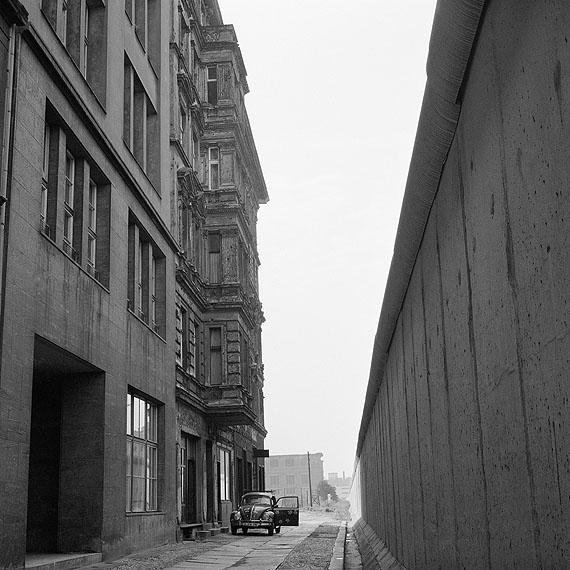 Rainer Fetting: Mauer Zimmerstraße, Berlin 1977