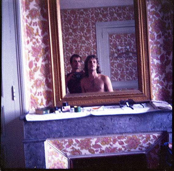 Rainer Fetting: Salomé und Selbst im Hotelspiegel 1974