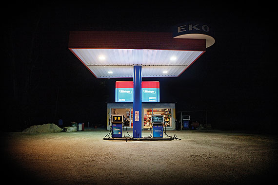Lasse Lecklin, Eko, Greece, From the series Places to Stop, 2012