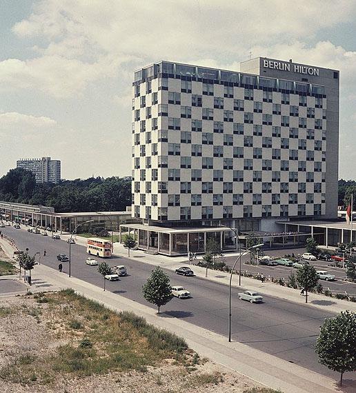 Herbert Maschke, Berlin Hilton, 1958© Cornelius Maschke und Morlind Tumler