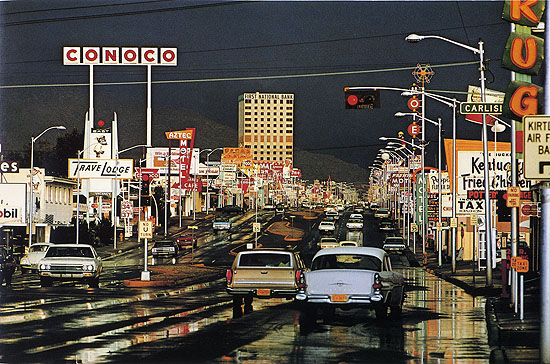 'Route 66, Albuquerque, New Mexico' 1968