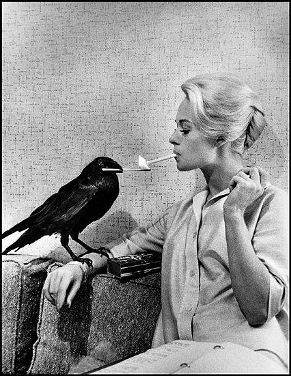© Philippe Halsman / Magnum Photos, USA. LA. Hollywood. 1962. Tippi HEDREN. USA. LA. Hollywood. 1962. Tippi HEDREN.