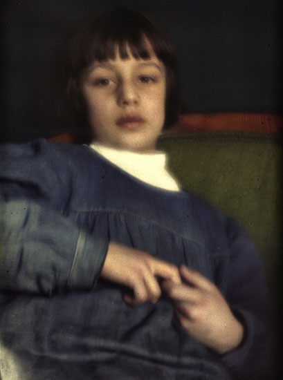 HEINRICH KUEHN - The Collection of Autochrome Plates 1907-1913