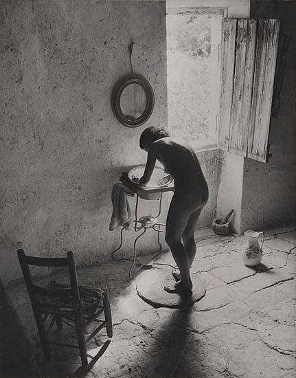 Le nu provençal, Gordes, 1949