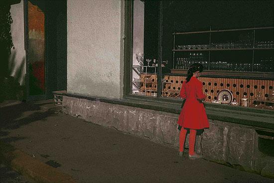 Red Girl 1987 Czernowitz, © Boris Savelev courtesy Michael Hoppen Contemporary, Boris Savelev, Multi layered pigment print on gesso coated aluminium, edition of three, 120 x 80 cm
