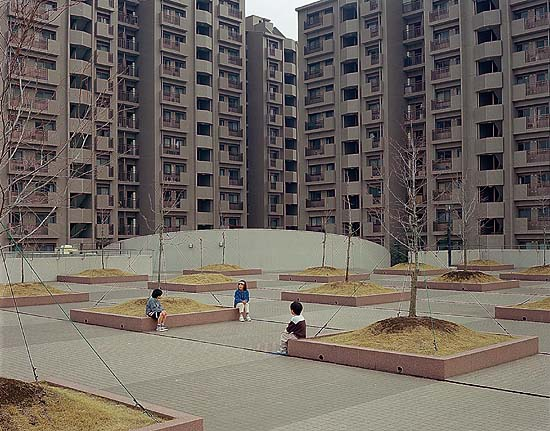 Appartment Complex, Yokohama , 1999 