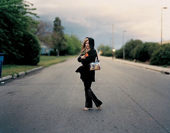 "Richard Renaldi ""Christine"", Fresno California 2003 aus der Serie ""Figure and Ground"""