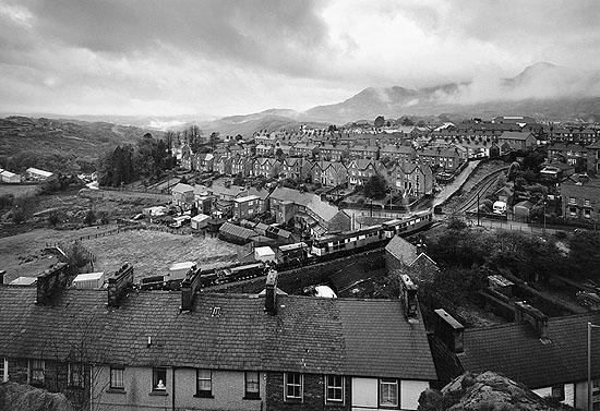 Ffestiniog Railway, Blaenau Ffestiniog, Snowdonia 1994 © John Davies