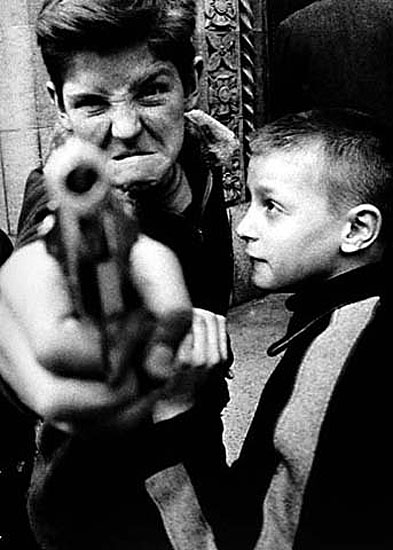 'Gun 1' New York 1955