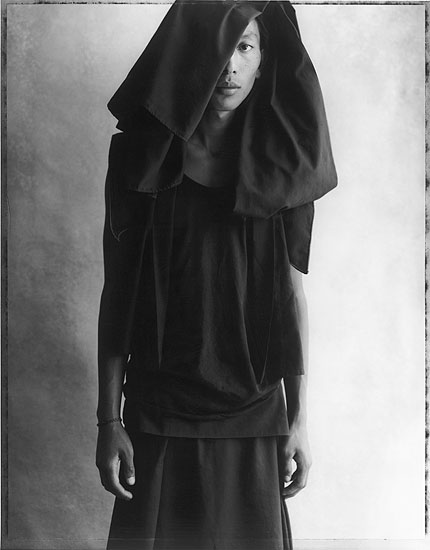 © Sheila Rock, Gazing Monk, 2002