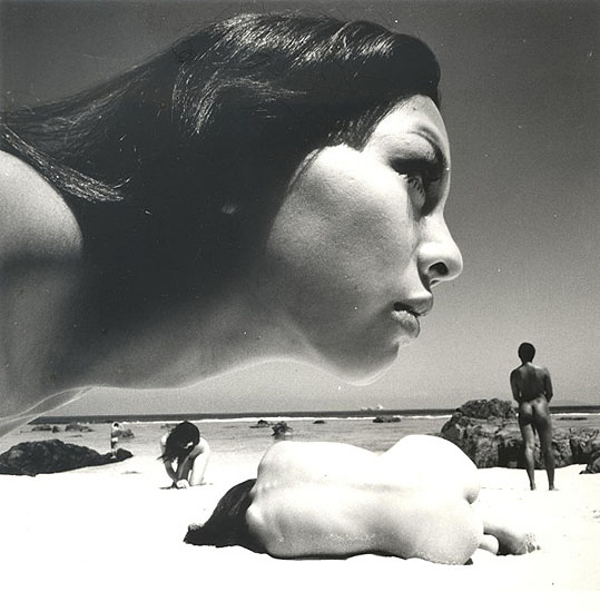 The Birth 1, 1968 , 24 x 23.5 cm, Vintage silver gelatin print, © Kishin Shinoyama courtesy Michael Hoppen Gallery
