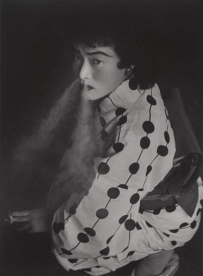 Prostitute, Nagoya, 1958, © Shomei Tomatsu courtesy Studio Equis, Silver Gelatin Print, 42 x 35 cm