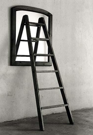 Escalera espejo
