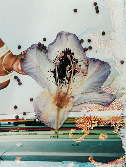 Untitled (Woman and Flower), LondonAnalog C-Print68 x 58 cm ( 26 3/4 x 22 7/8 in. )Edition of 10