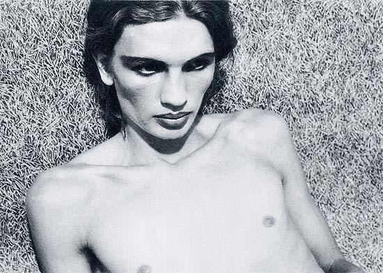 """Aus der Serie """"Carlo Joh."""", 1973Silbergelatine-Abzug, 39,7 x 29,6 cmAnkauf © Walter Pfeiffer"""