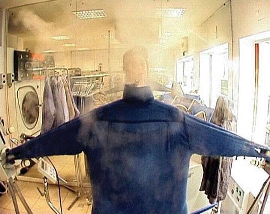 Self-portrait from the inside (autoportrait de l'intérieur)2003 | 1 minute in a loop – DVD-R | Ed. of 5
