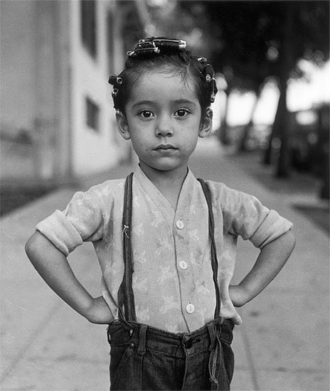 Ida Wyman, Girl with Curlers, Los Angeles, 1949