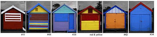 Beach Boxes, Melbourne, Victoria Australia (2002)