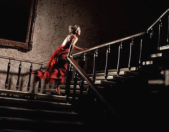 The Girl in the Red Dress , Color C-Print - 122 x 152 cm - Editon of 7 , © David Drebin