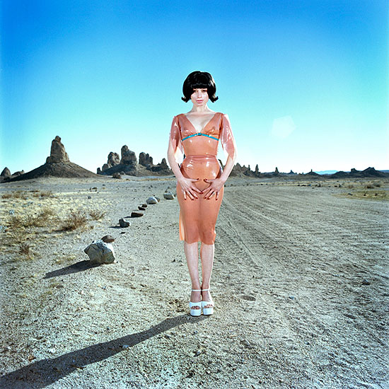 marla rutherford, abandoned housewife, 2003, c-print, 30 x 30 inches
