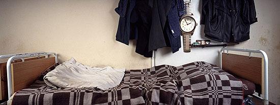 aus der Serie 1,62 m2 Zuhause, 2004