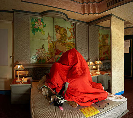 "MENG Jin + FANG Er: ""Ou Xiang Hotel"" , (2009) C-Print. 150cm x 170cm, Edition of 10; 90cm x 102cm, Edition of 8., © MENG Jin + FANG Er. Courtesy of m97 Gallery."