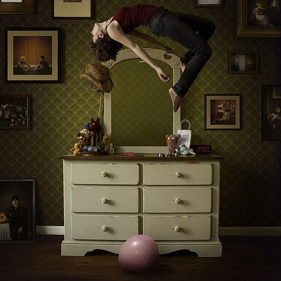 haley jane samuelson, levitation, 2008, digital c-print, 24 x 24 inches