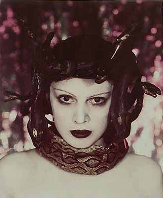 Mrs Edward Mayer as Medusa 1935