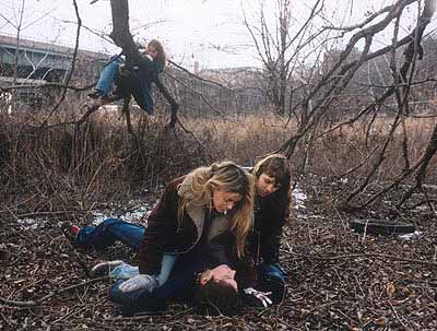Justine Kurland, 'Boy Torture: double headed spit monster', 1999