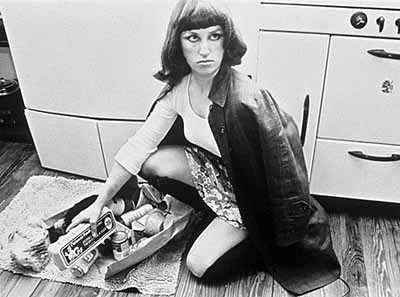 Untitled Film Still #10 1978 . Black-and-white photographPhotograph courtesy of the artist and Metro Pictures© 2003 Cindy Sherman