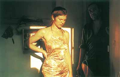 Valerie in the light, Bruno in the dark, Paris 2001 © Nan Goldin