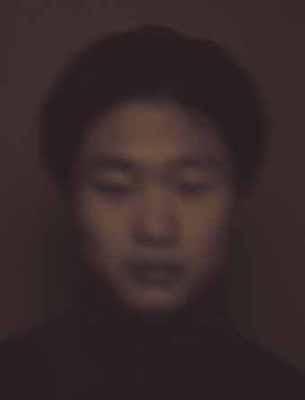 this appearance: one hour portrait # 8, 2002,  c-print Edition 5, 80 x 105 cm